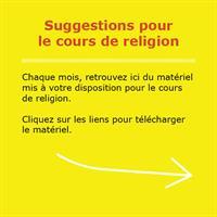 Fiches De Religion Bonjour